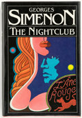 Books:First Editions, Georges Simenon. The Nightclub. Translated from the Frenchby Jean Stewart. New York London: A Helen and Kurt Wolff ...