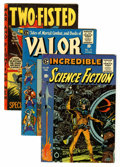 Golden Age (1938-1955):Miscellaneous, EC Comics Group (EC, 1954-55).... (Total: 5 Comic Books)