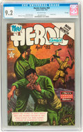 Golden Age (1938-1955):War, Heroic Comics #82 File Copy (Eastern Color, 1953) CGC NM- 9.2 Off-white pages....