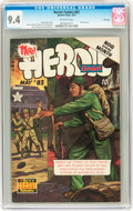 Golden Age (1938-1955):War, Heroic Comics #83 File Copy (Eastern Color, 1953) CGC NM 9.4Off-white pages....