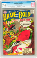 Silver Age (1956-1969):Adventure, The Brave and the Bold #9 (DC, 1956) CGC FN/VF 7.0 Off-white to white pages....