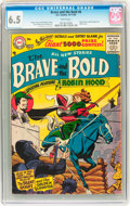 Silver Age (1956-1969):Adventure, The Brave and the Bold #8 (DC, 1956) CGC FN+ 6.5 White pages....