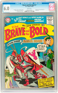 Silver Age (1956-1969):Adventure, The Brave and the Bold #7 (DC, 1956) CGC FN 6.0 White pages....
