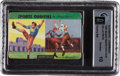 """Baseball Cards:Sets, 1954 Quaker Oats """"Sports Oddities"""" GAI 10 Perfect Factory Cello Pack...."""