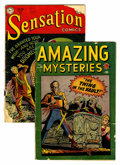 Golden Age (1938-1955):Horror, Comics - Assorted Golden Age Horror Comics Group (Various,1949-52).... (Total: 2 Comic Books)