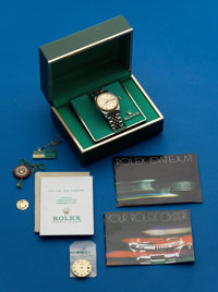 Rolex, Gents Two Tone, With Diamond Dial, Box & Extra Dial, circa 1982