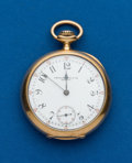 Timepieces:Pocket (post 1900), Patek Philippe, 18k, 45 mm, Pocket Watch, circa 1906. ...