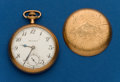 Timepieces:Pocket (post 1900), South Bend, 19 Jewel, 16 Size, Grade 219. ...