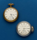 Timepieces:Pocket (post 1900), Two - Elgin, 18 Size, Pocket Watches. ... (Total: 2 Items)