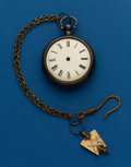 Timepieces:Pocket (post 1900), Swiss, Verge Fusee, Parts Watch. ...