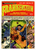 Golden Age (1938-1955):Horror, Frankenstein Comics #32 (Prize, 1954) Condition: FN+....
