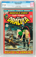 Bronze Age (1970-1979):Horror, Tomb of Dracula #1, 44, and 70 CGC-Graded Group (Marvel,1972-79).... (Total: 3 Comic Books)
