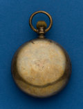 Timepieces:Pocket (post 1900), Illinois, 18 Size, 7 Jewel, Coin Silver, Invisible Joint HingeCase. ...