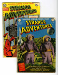 Golden Age (1938-1955):Science Fiction, Strange Adventures #1 and 8 Group (DC, 1950-51).... (Total: 2 ComicBooks)
