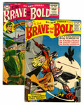Golden Age (1938-1955):Miscellaneous, The Brave and the Bold #4 and 5 Group (DC, 1956).... (Total: 2 Comic Books)
