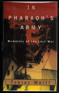 Books:Signed Editions, Tobias Wolff. In Pharaoh's Army. Memories of the Lost War. New York: Alfred A. Knopf, 1994. First edition. Sig...