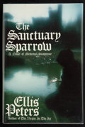 Books:First Editions, Ellis Peters. The Sanctuary Sparrow. The Seventh Chronicle of Brother Cadfael. New York: William Morrow and Comp...