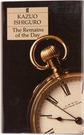Books:Signed Editions, Kazuo Ishiguro. The Remains of the Day. London Boston: Faberand Faber, [1989]. First edition. Signed by the autho...
