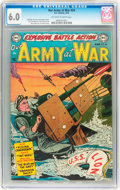 Golden Age (1938-1955):War, Our Army at War #20 (DC, 1954) CGC FN 6.0 Off-white to white pages....