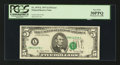Error Notes:Shifted Third Printing, Fr. 1975-L $5 1977A Federal Reserve Note. PCGS Very Fine 30PPQ.. ...