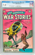 Golden Age (1938-1955):War, Star Spangled War Stories #19 (DC, 1954) CGC FN/VF 7.0 Cream tooff-white pages....