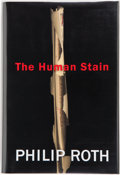 Books:First Editions, Philip Roth. The Human Stain. Boston New York: HoughtonMifflin Company, 2000. First edition. Publisher's original b...