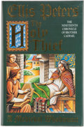 Books:Signed Editions, Ellis Peters. The Holy Thief. The Nineteenth Chronicle of Brother Cadfael. [London]: Headline, [1992]. First edi...