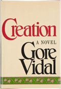 Books:Signed Editions, Gore Vidal. Creation. A Novel. New York: Random House, [1981]. First edition. Signed by the author on the half...