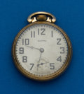 Timepieces:Pocket (post 1900), Illinois 19 Jewel, 16 Size Governor. ...
