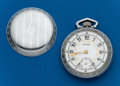 Timepieces:Pocket (post 1900), Elgin 18 Size Fancy Dial. ...