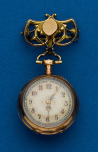 Swiss Gold Miniature Watch
