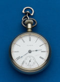 Timepieces:Pocket (post 1900), Elgin 18 Size Pocket Watch. ...