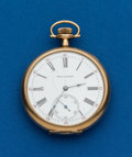 Timepieces:Pocket (post 1900), Waltham 12 Size Royal Grade. ...