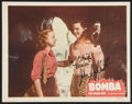 "Movie Posters:Adventure, Bomba, the Jungle Boy (Monogram, 1949). Autographed Lobby Card (11""X 14""). Adventure.. ..."