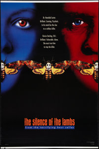 """The Silence of the Lambs (Orion, 1990). One Sheets (2) (27"""" X 41"""") DS Advance Styles B and C. Thriller. ... (T..."""