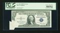 Error Notes:Foldovers, Fr. 1614 $1 1935E Silver Certificate. PCGS Choice About New 58PPQ.....