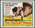 "Movie Posters:War, The Gallant Hours (United Artists, 1960). Half Sheet (22"" X 28"")Style A. War.. ..."