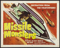 "Movie Posters:Science Fiction, Missile Monsters (Republic, 1958). Half Sheet (22"" X 28""). ScienceFiction.. ..."