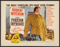 """Movie Posters:Thriller, Foreign Intrigue Lot (United Artists, 1956). Half Sheets (2) (22"""" X 28"""") Style B. Thriller.. ... (Total: 2 Items)"""