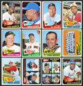 Baseball Cards:Sets, 1965 Topps Baseball Near Set of (565/598). ...