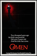 "Movie Posters:Horror, The Omen (20th Century Fox, 1976). One Sheet (27"" X 41"") Advance Style B. Horror.. ..."