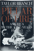 Books:Signed Editions, Taylor Branch. Pillar of Fire. America in the King Years 1963-65. [New York]: Simon & Schuster, [1998]. First ed...