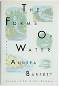 Books:Signed Editions, Andrea Barrett. The Forms of Water. New York, et al.: Pocket Books, [1993]. First edition. Signed by the author ...