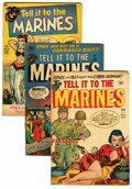 Golden Age (1938-1955):War, Tell it to the Marines Group (Toby Publishing, 1952-54).... (Total: 7 Comic Books)