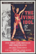 "Movie Posters:Adventure, The Living Idol (MGM, 1956). One Sheet (27"" X 41""). Adventure.. ..."