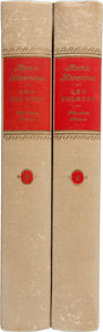 Books:Fiction, Leo Tolstoy. Anna Karenina - In Two Volumes.Translated from the Russian by Constance Garnet. With an In...