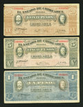 Canadian Currency: , DC-15b 25¢ 1900 VG. DC-24d 25¢ 1923 VF.. ... (Total: 17 notes)