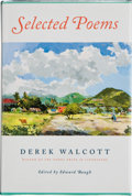Books:Signed Editions, Derek Walcott. Selected Poems. Edited by Edward Baugh. New York: Farrar, Straus and Giroux, [2007]. First edition. ...