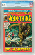 Bronze Age (1970-1979):Horror, Fear #10 (Marvel, 1972) CGC VF+ 8.5 Off-white to white pages....