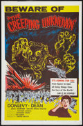 """Movie Posters:Science Fiction, The Creeping Unknown (United Artists, 1956). One Sheet (27"""" X 41"""").Science Fiction.. ..."""